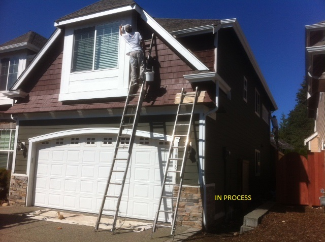 exterior house painters