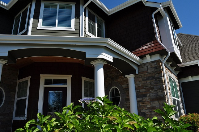 Renton home after painted
